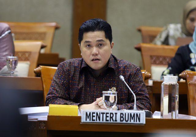 Erick Thohir Inginkan Subsidi untuk BUMN, Biar Langsung ke Rakyat