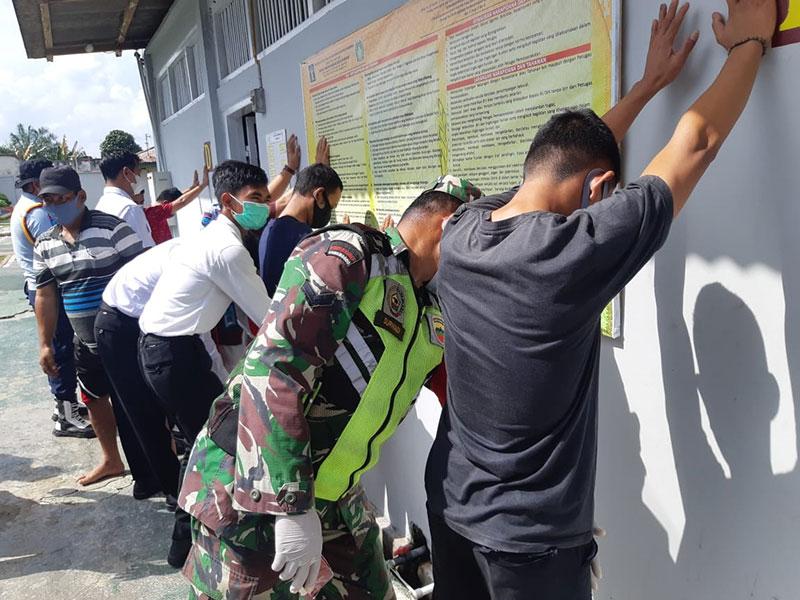 27 Kamar Tahanan di Rutan Rengat Disidak