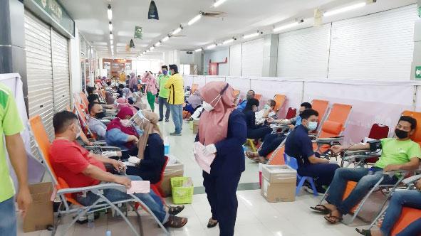 Panitia Bersama Sembako Imlek Gelar Donor Darah