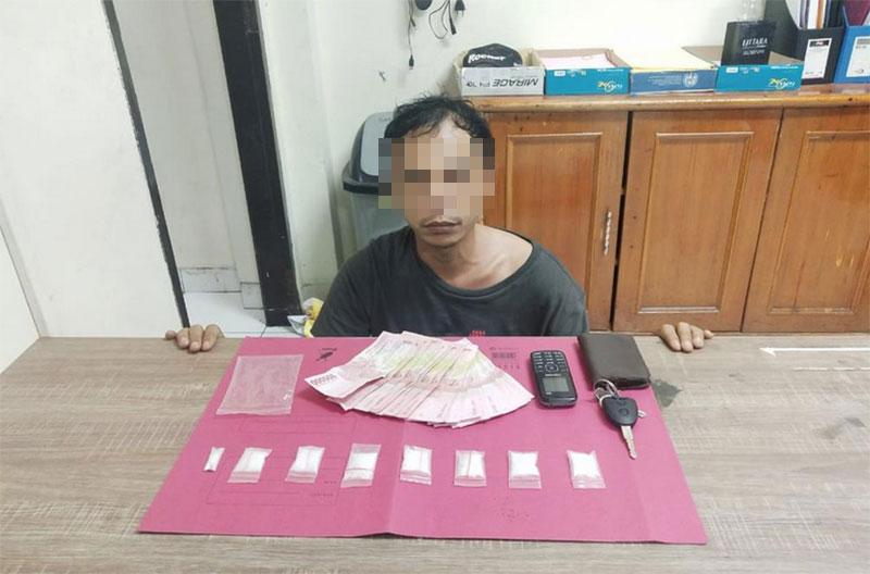 Sejam Berselang, Dua Pemasok Sabu Ditangkap