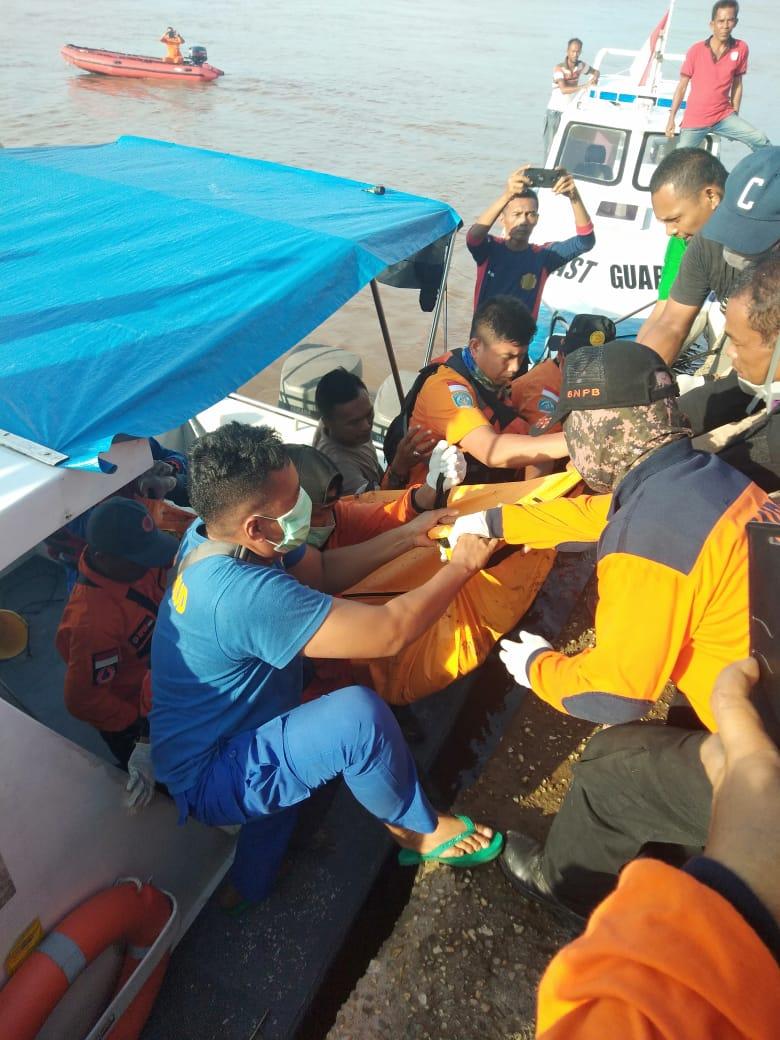 Dua Pelajar SMP Sei Apit Tenggelam Ditemukan Meninggal Dunia