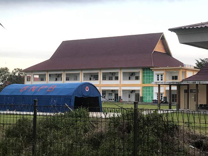 Gedung Daerah Dijadikan Lokasi Isolasi Baru