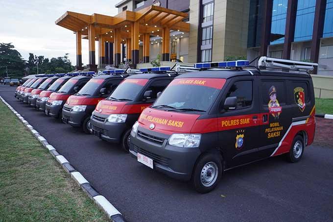 Wakapolri Resmikan Mobil Pelayanan Saksi Polda Riau