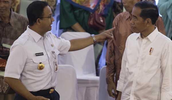 Ini Alasan Jokowi Tolak Permintaan Anies Lockdown Jakarta