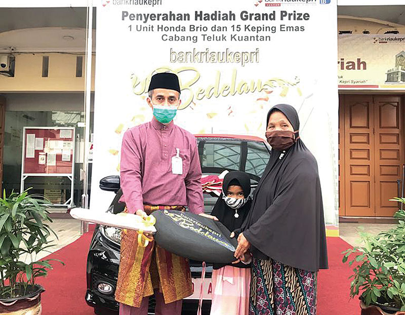 Misliati Dapat Mobil Brio dari Bank RiauKepri