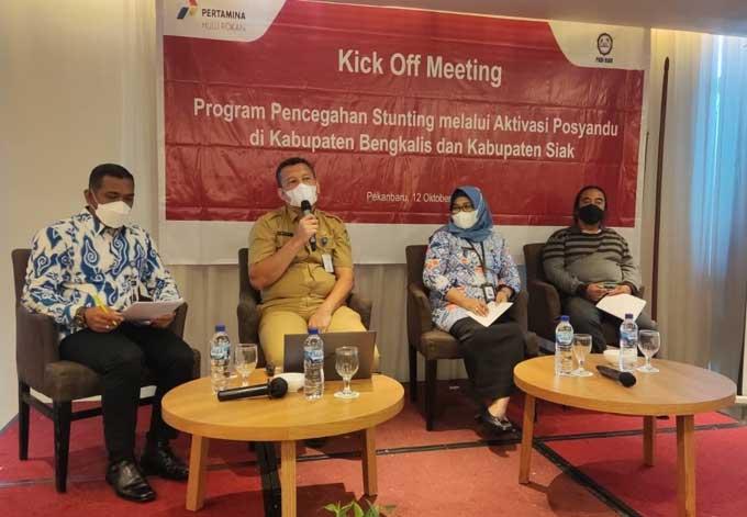 PHR WK Rokan Luncurkan Program Pencegahan Stunting