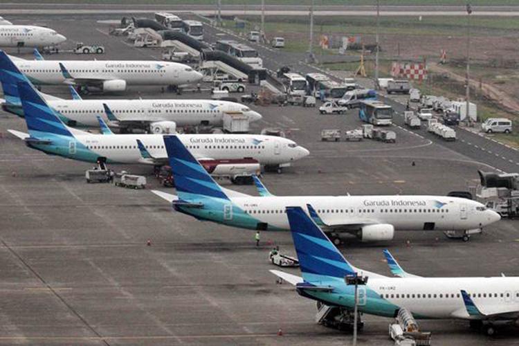 Penerbangan di Soetta Normal di Hari Pertama PSBB DKI