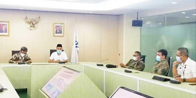 Wali Kota Bahas PotensiDumaidi Kementerian Investasi