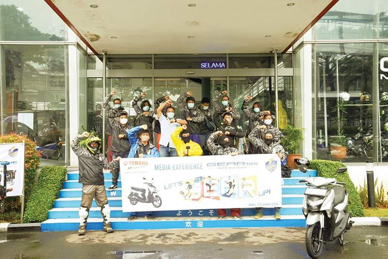 Ajak Wartawan Jajal Ketangguhan Yamaha GEAR 125