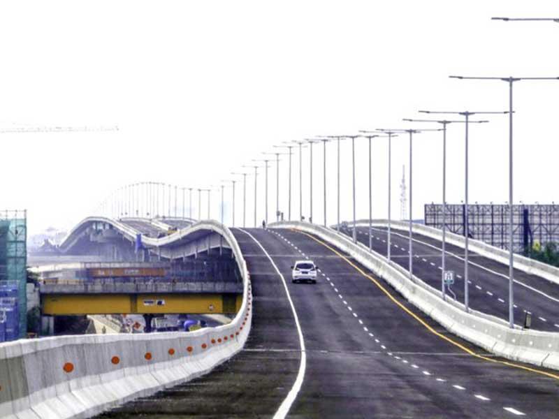 Tol Layang Jakarta-Cikampek Elevated II Bergelombang