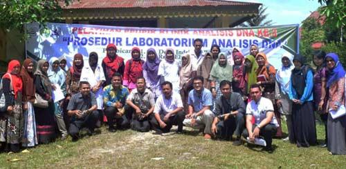 Tim PPUPIK Klinik Analisis DNA Unri Adakan Pelatihan