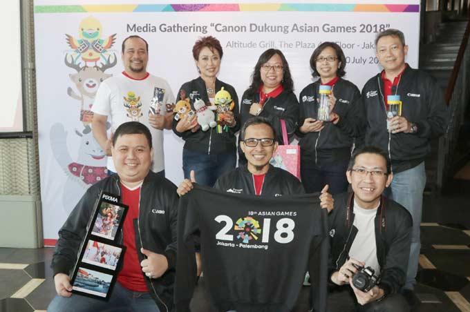 Canon dan Datascrip Dukung Asian Games 2018