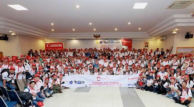 HUT TNI AU, Canon Gelar Lomba Foto Marathon 2018