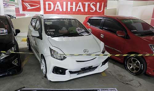 Puluhan Mobil Modifikasi Daihatsu Ramaikan Palembang