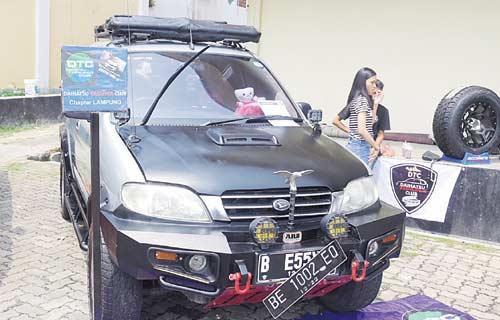 Kontes Adu Keren Mobil Daihatsu Hadir di Lampung