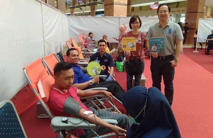 BMPD Riau Taja Baksos Donor Darah