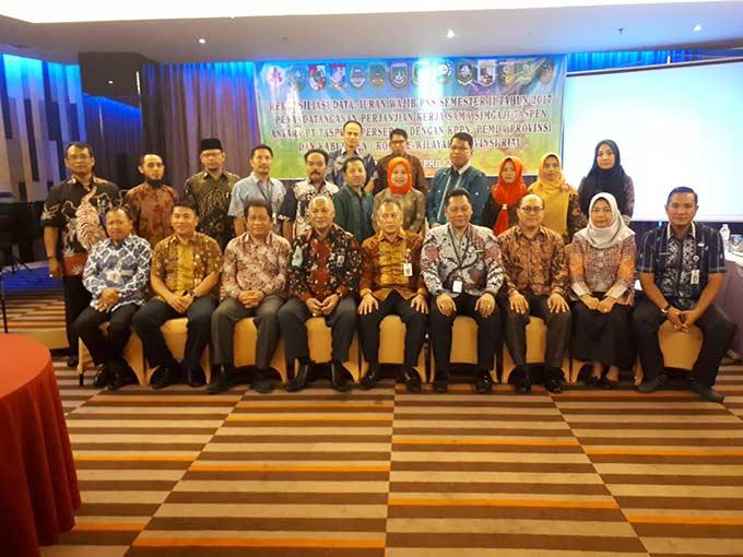 Taspen Selenggarakan Rapat Koordinasi dan Rekonsiliasi Data