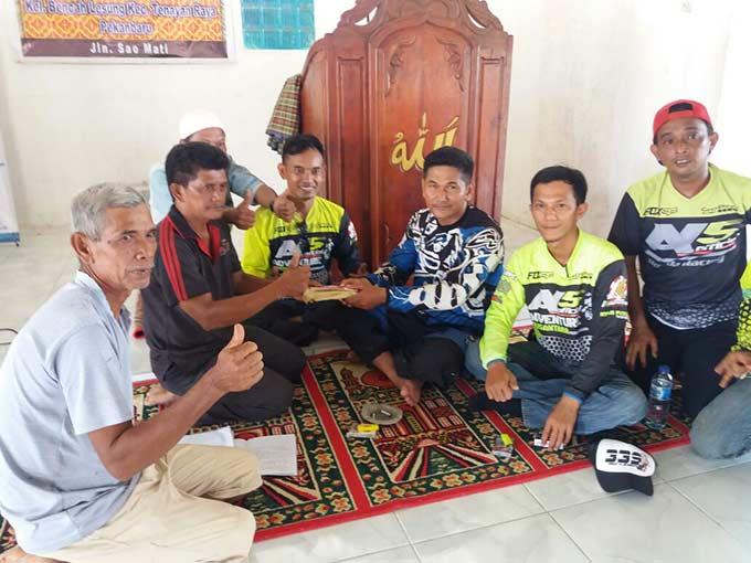 KTT Bersama ITA Riau Baksos Pembangunan Masjid
