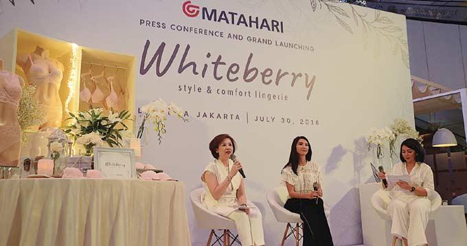 Matahari Department Store Hadirkan Whiteberry  Style & Comfort Lingerie