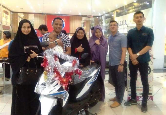 New Honda Beat dari Plaza Mebel