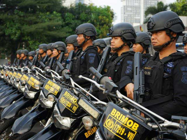 Diduga Oknum Polisi Lakukan Pemukulan, Gedung PTIK Dikepung Ormas