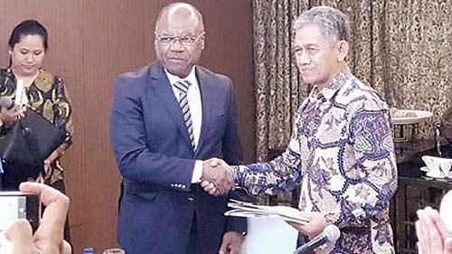 RD Kongo Tertarik  Industri Sawit Indonesia