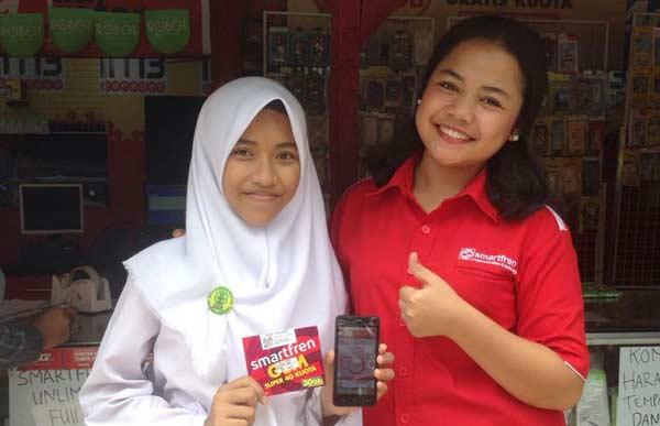 Smartfren GSM Super 4G, Kartunya Pelanggan Milenial