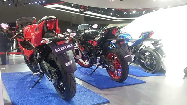 Suzuki GSX-R150 Lebih Stylish