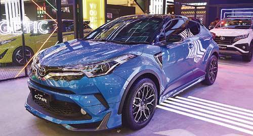 Toyota All New C-HR Hadir  Sporty di Kelas Tersendiri
