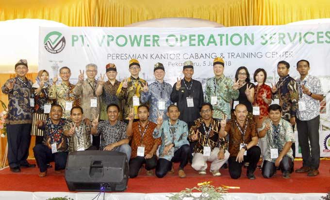 Kantor Cabang PT VPower Operation Services Diresmikan