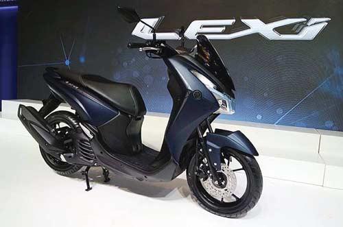 Yamaha LEXi Irit Bahan Bakar