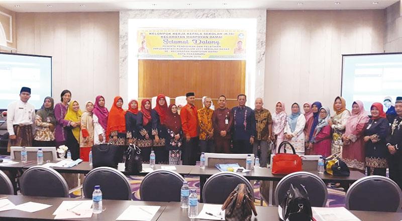 K3S Kecamatan Marpoyan Damai Taja Diklat Implementasi Kurikulum 2013