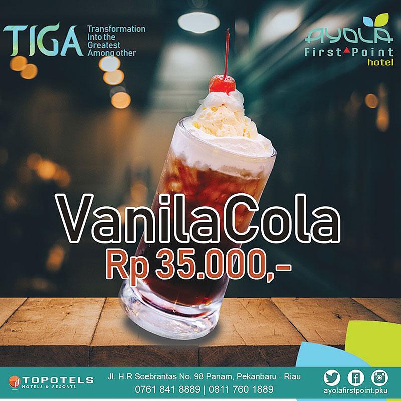 Rp35 Ribu, Dapatkan Vanila Cola di Ayola Hotel