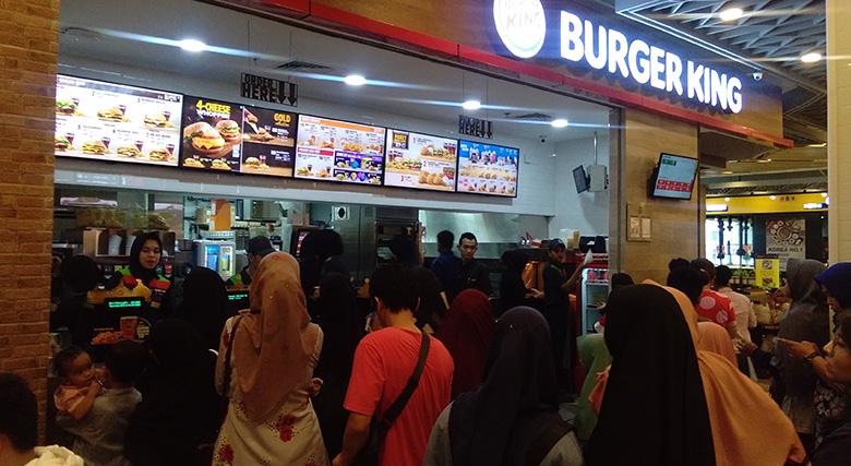 Burger King Jadi Primadona Kuliner
