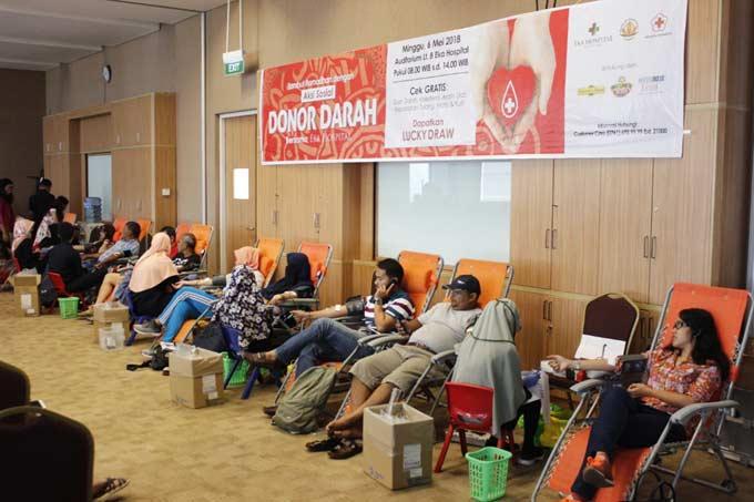 Eka Hospital Kumpulkan 181 Kantong Darah