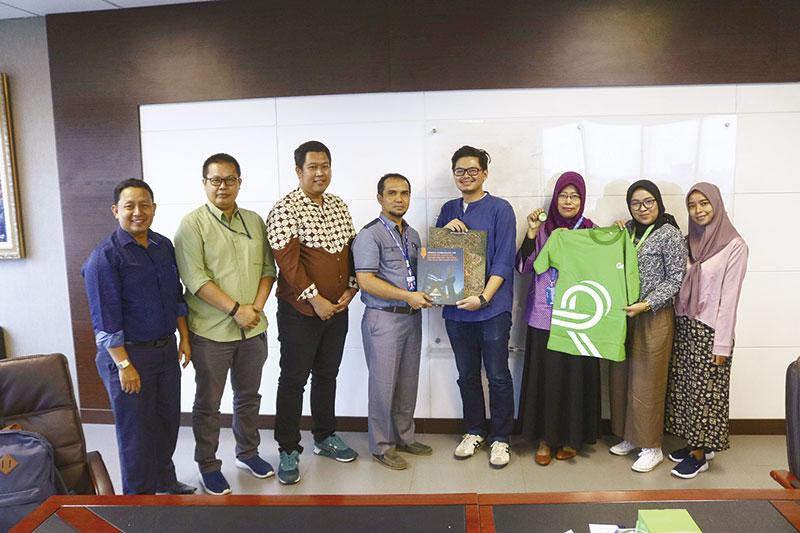 Grab Pekanbaru Silaturahmi ke Riau Pos