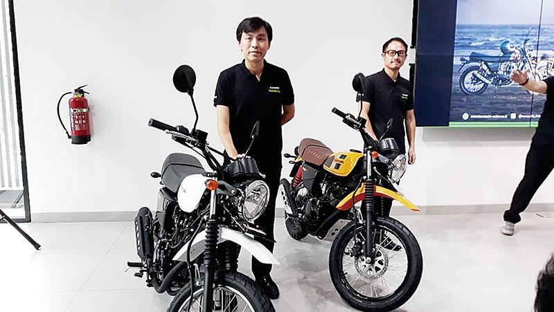 Kawasaki Luncurkan Seri W175 TR