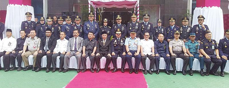 Gubri Pimpin Upacara Puncak Hari DKD 2019