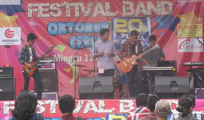 Festival Band Meriahkan HUT Plaza Citra