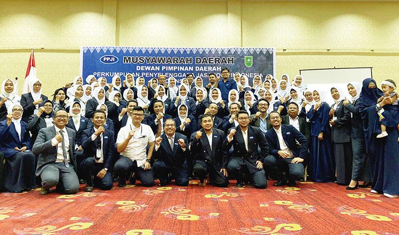 Alfa Frisa Septania Pimpin DPD PPJI Riau