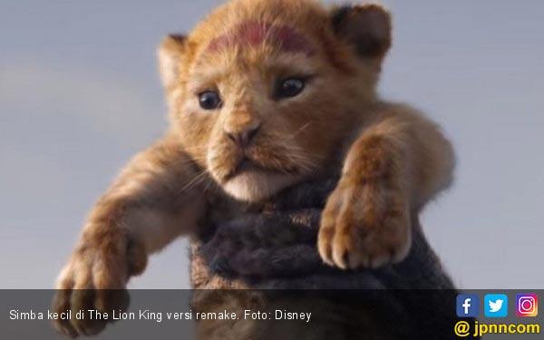 The Lion King Visual yang Mengesankan