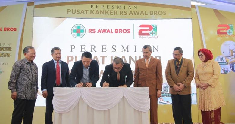 RS Awal Bros Resmikan Pusat Layanan Kanker di Riau