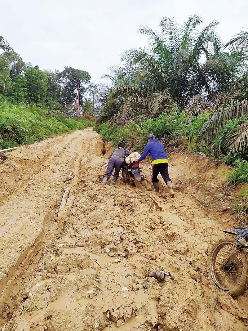 Soal Penanganan Ruas Jalan Lahai Kemuning-Sanglap, Dinas PUPR Koordinasi dengan Bappeda