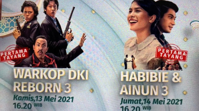 Sejumlah Film Warkop DKI Ditayangkan di Idul Fitri 2021