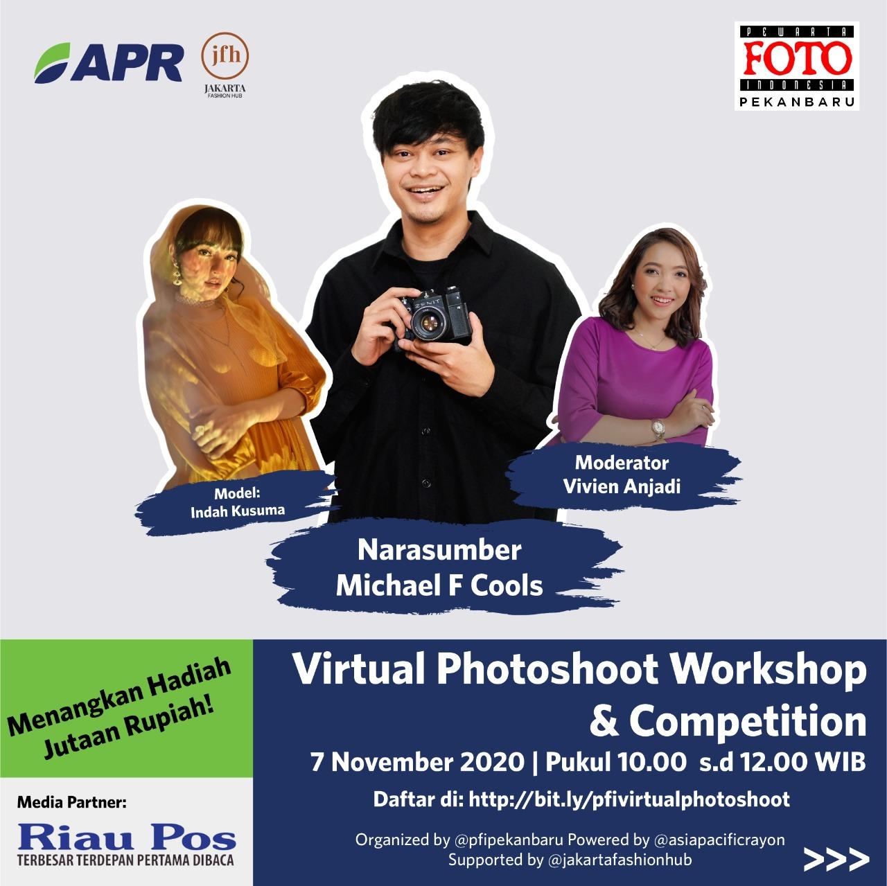 PFI Pekanbaru Gelar Virtual Photoshoot Workshop & Competition