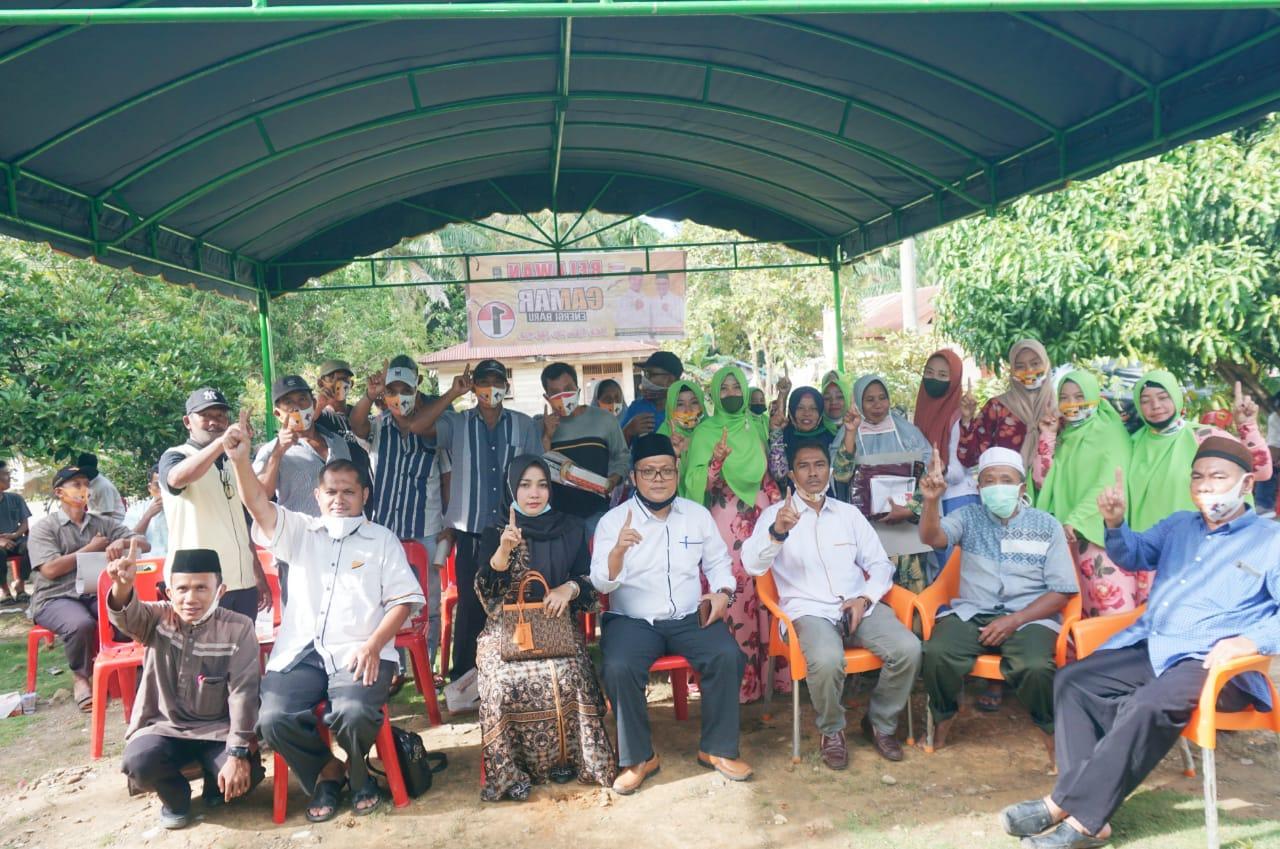 Paslon Camar Sudah Gelar 259 Kampanye Dialogis