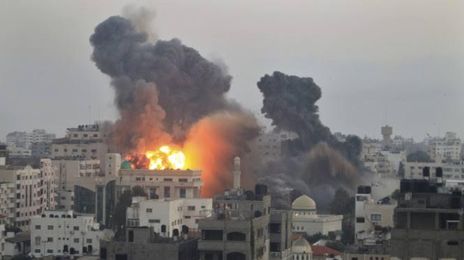 Makin Mengerikan, Rudal Israel Tewaskan 192 Orang di Gaza