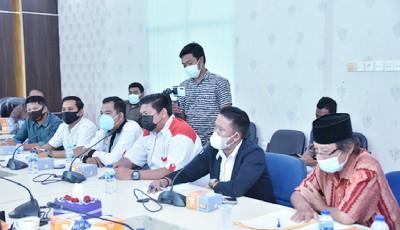 KONI Gelar Audiensi Bersama Komisi IV DPRD Bengkalis