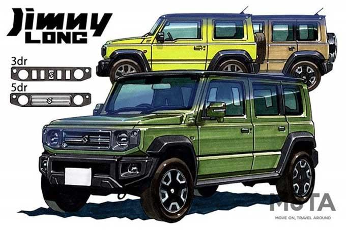 2022, Suzuki Bakal Hadirkan Jimny Long