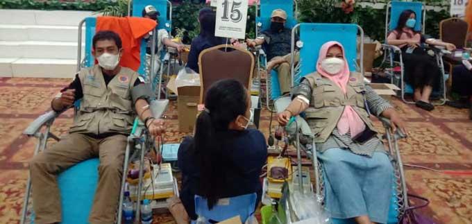 Relawan Covid-19 Berhasil Kumpulkan 2.387 Kantong Darah